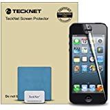 TeckNet® Apple iphone Screen Protector for iPhone 5S / iPhone 5C / iPhone 5 [3-Pack] Premium Ultra-Clear 4H Hardness Xtreme Scratch Defender High-Response with Lifetime Warranty