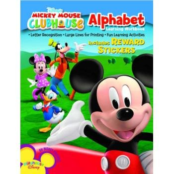 Mickey Mouse Clubhouse Alphabet Workbook - Case Pack 48 SKU-PAS339147 - 1