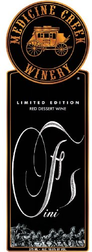 "Nv Medicine Creek ""Fini"" Red Dessert Wine 375 Ml"