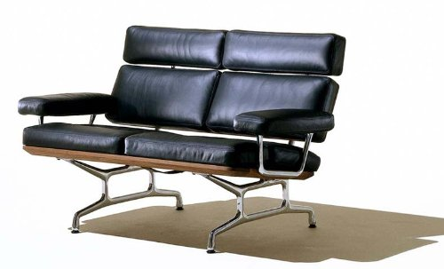 Strange Home Office Desk Chairs Eames 2 Love Seat Sofa Chair Home Interior And Landscaping Ologienasavecom