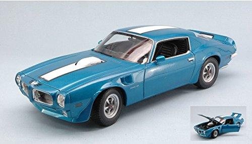 pontiac-firebird-trans-am-1972-blue-w-white-stripes-118-welly-auto-stradali-modello-modellino-die-ca