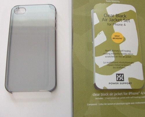 パワーサポート エアージャケットセット for iPhone4S/4 (クリア) PHC-71