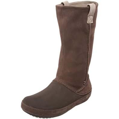Amazon.com: Crocs Women's Berryessa Boot,Espresso/Espresso