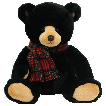 41SXIdVpJ3L Reviews TY Classic Plush   WOODSIDE the Black Bear