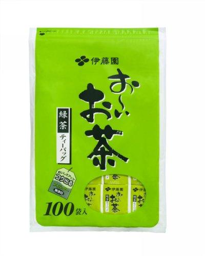 Ooi Ocha Green Tea Bag 2Gx100Packsx1