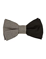 Tiekart Black Impression Men Bow Ties