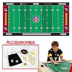 NFLR Licensed Finger FootballT Game Mat - Redskins. Product Category: Toys & Games > Finger FootballT > NFL NFC