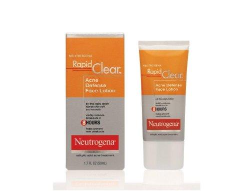 Neutrogena Rapid Clear Acne Defense Face Lotion,