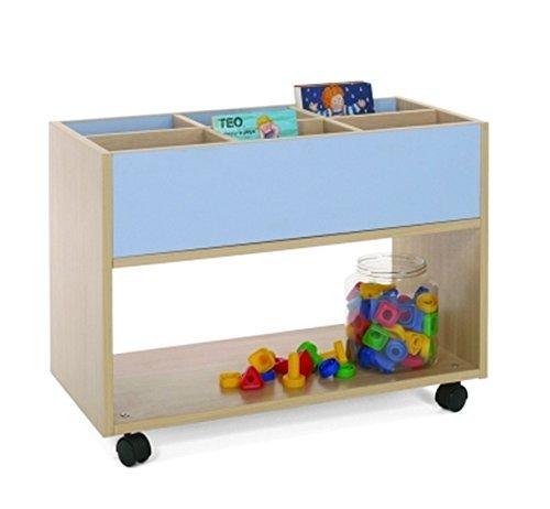 Bücherwagen Kidz Pro Mittel, verschiedene Farben blau günstig kaufen