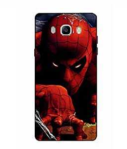 Case Cover Spider Man Printed Red Soft Back Cover For SAMSUNG Galaxy On8