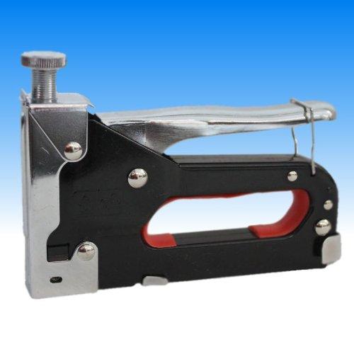 -Spillatrice metallo per punti 4-14mm Sparachiodi manuale Cucitrice incl. 50mollette