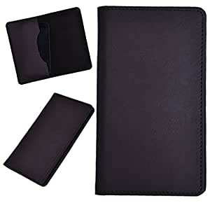 DCR Pu Leather case cover for XOLO Q1010 (brown)
