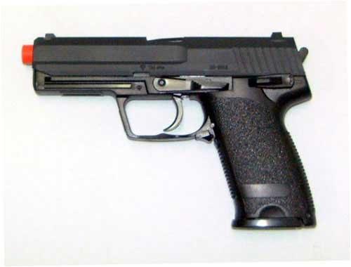 UHC 161B Gas Powered Non-Blowback Airsoft Pistol (Black)