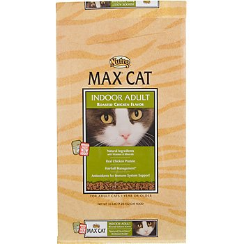 See Max Indoor Adult Roasted Chicken Flavor Cat Food, 16-Pound