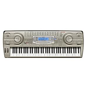 Casio WK-3800AD 76-Key Electronic Keyboard with Power Supply