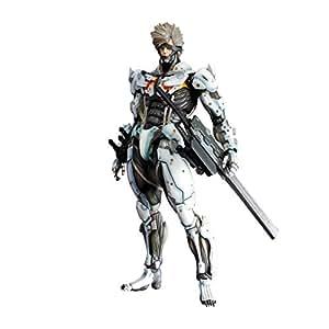 Play Arts Kai Raiden Action Figure(white Armor Version): Toys & Games