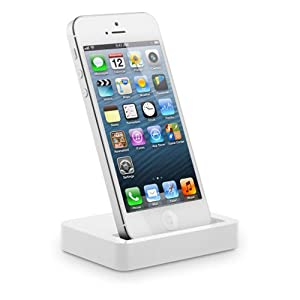 IMOOVE - Socle Base Station d'accueil USB synchronisation et charge pour Apple iPHONE 5 / iPod touch 5e génération / iPod nano 7e génération
