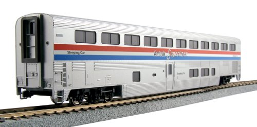 Kato USA Model Train Products Amtrak Phase III Superliner Sleeper