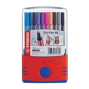 STABILO Pen 68 ColorParade 20er Etui - Fasermaler