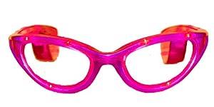 WeGlow International Flashing Pink LED Sunglasses (Pack Of 2)