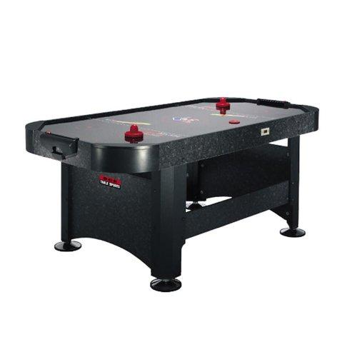 Speed-Airhockey-Tisch-stabiler-Airhockeytisch-183x81x91cm-Spieltisch-inkl-2x-Airhockey-Puck-Schlger-schwarz