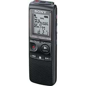 Sony ICD-PX820 Digital Voice Recorder (Black)