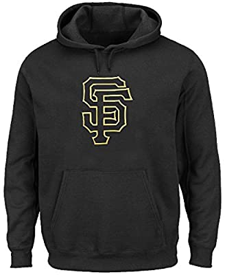 San Francisco Giants Black Mens Majestic Scoring Position Hoodie Sweatshirt