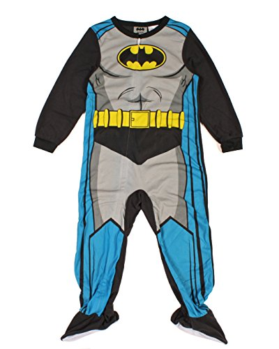 Dc Comics Batman Boys Toddler Footed Pajamas Blanket Sleeper 12m-5t (5t) - 1