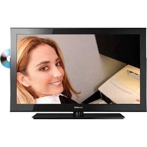 Toshiba 24SL410U 24-Inch 1080p 60 Hz LED-LCD HDTV, Black Toshiba 32SLV411U 32-Inch 720p LED-LCD HDTV with Built-in DVD Player, Black savings
