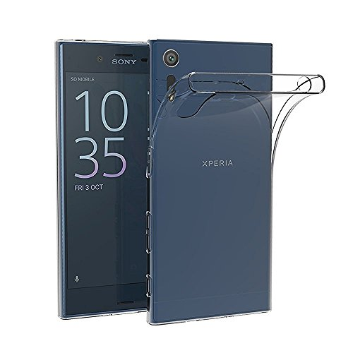 Sony Xperia XZ Gel Case - easyDigital® Protective Sony Xperia XZ Clear TPU Gel Case Cover For Sony Xperia XZ with Flexibility & Shock Absorption Function with Sony Xperia XZ Screen Protector. (Sony Xperia XZ)