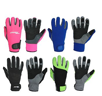1.5 MM Adjustable Scuba Diving, Snorkeling, Sporting Glove w/Amara Palm Dive Divers Glove Swim Swimming Swimmers Garden Kayak Jet Ski Water Sports Gloves
