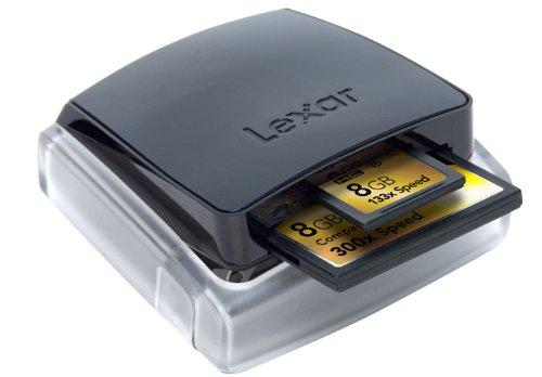 LEXAR RW035-266 USB 2.0 2-in-1 Memory Card Reader