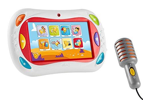 Chicco 0000757900000 gioco happy tab white 2016 limited for Happy tab chicco microfono