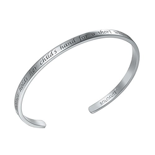 solocute-bracciale-donna-argento-a-mother-holds-her-childs-hand-for-a-short-while-and-their-hearts-f