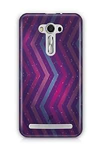YuBingo Zig Zag Pattern with Confetti Mobile Case Back Cover for Asus Zenfone 2 Laser 550