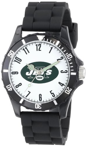Game Time Kids' NFL-WIL-NYJ Wildcat College Series New York Jets 3-Hand Analog Watch at Amazon.com