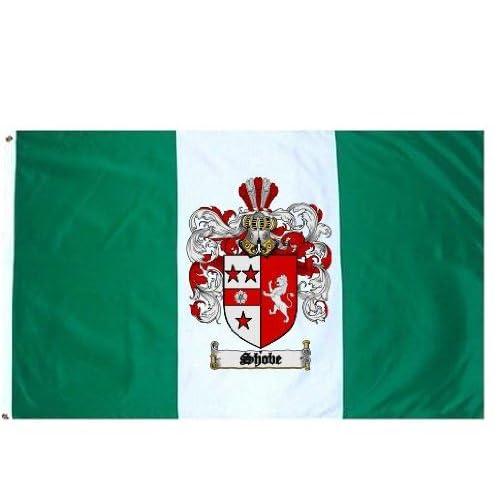 Amazon.com : Shobe Family Crest / Coat of Arms Flag. Large