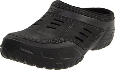 (超值)Crocs Men's Yukon Sport Lined Clog卡洛驰男士洞洞皮鞋黑色$53.52