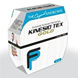 "Kinesio - Tex Tape Gold Wave Bulk 2"" W x 103.3 L Blue - 1 Clinical Roll"