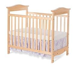 Foundations Worldwide The Princeton Clear Choice Mini Crib, Natural