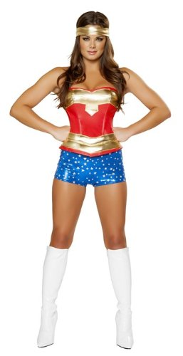 Roma Bikini Women's Heroine Super Hero Costume