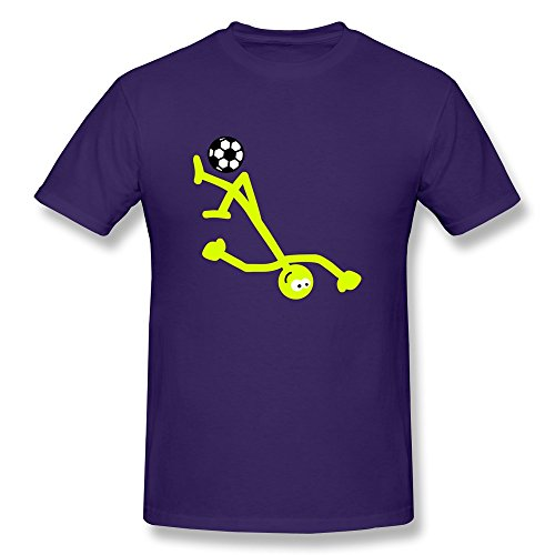 Cool Soccer Man Fitted Geeks T-Shirt - Ultra Cotton front-524152