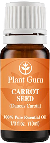 Carrot Seed Essential Oil. 10 ml. 100% Pure, Undiluted, Therapeutic Grade.