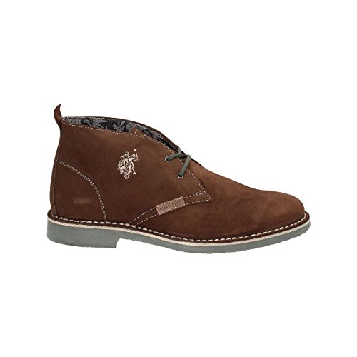 U.S. Polo Assn. MUST3119S4/S6 Polacchino Uomo Crosta Marrone Marrone 43