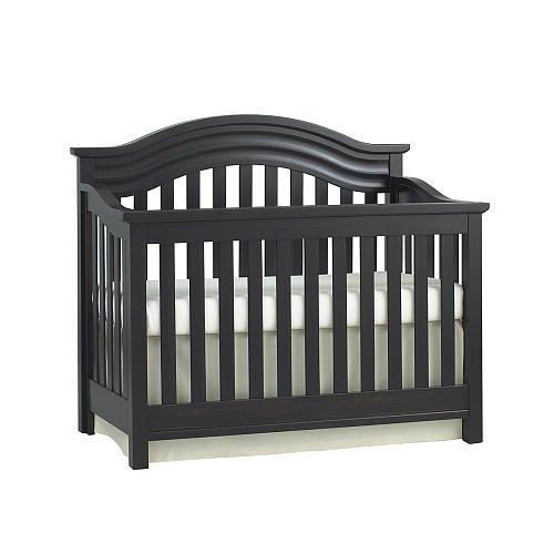 Baby Cache Riverside Lifetime Convertible Crib Espresso