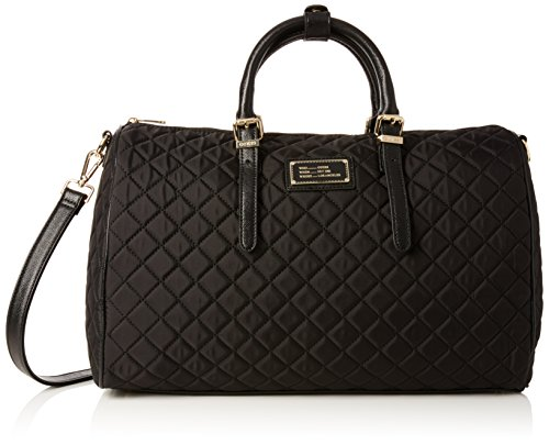 guess-damen-florencia-duffle-bag-handtaschen-schwarz-nero-one-size