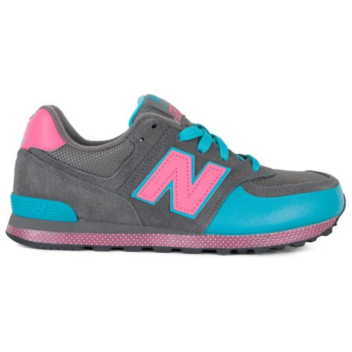 New Balance Classic Traditionnels Charcoal Toddlers Trainers Size 6.5 Uk front-930168