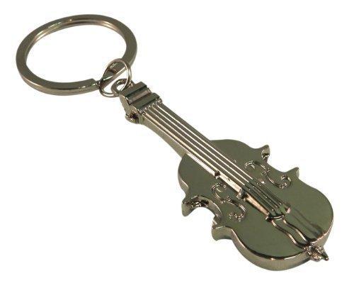 Benutzerdefinierte-Graviert-Personalisiert-Poliert-Violine-Schlsselanhnger-In-Samt-Geschenk-Tasche-Ref-F6-Violine