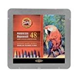 Koh-I-Noor : Progresso : Woodless Watercolour Pencils : Tin Set of 48