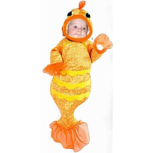 Baby Fish Bunting Halloween Costume (Sz:18 Months)